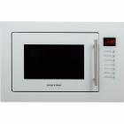 Встраиваемая микроволновая печь с грилем Gunter&Hauer EOK 25 WH белая
