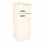Двухкамерный холодильник Gunter&Hauer FN 240 B бежевый, ретро