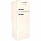 Двухкамерный холодильник Gunter&Hauer FN 275 B бежевый, ретро