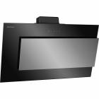 Наклонная кухонная вытяжка Gunter&Hauer Helena (Nova HA9085) нержавеющая сталь/черное стекло