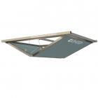 Усиленный потолочный ревизионный люк под покраску с двумя створками VHID Block Horizontal 1200 мм