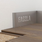 Заглушка для плинтуса Fagola Linea Quattro