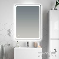 Зеркало с LED подсветкой 60x80 см с сенсорным включением