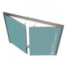 Ревизионный люк под покраску с двумя створками VHID Wing Vertical 700 мм