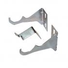 Комплект кронштейнов для радиатора KFA Armatura 878-013-16