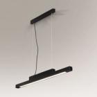 Люстра подвесная Shilo Otaru 5572 современный, черный, металл