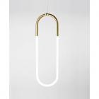 Подвесной LED-светильник Kink Light Gold D20/H78 белый/золото