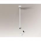 Люстра подвесная Shilo Daisen 7668 современный, белый, металл