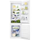 Встраиваемый двухкамерный холодильник с нижней морозильной камерой Zanussi ZBB928651S
