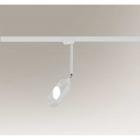 Трековый светильник Shilo Furoku 7965 современный, белый, металл