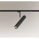 Трековый светильник Shilo Mitsuma 7988 современный, черный, металл