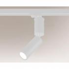 Трековый светильник Shilo Shima 7697 современный, белый, металл