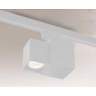 Трековый светильник Shilo Bizen 7708 современный, белый, металл