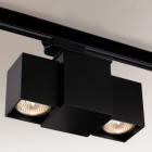 Трековый светильник Shilo Bizen 6631 современный, черный, металл