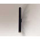 Настенный светильник влагостойкий Shilo Doha 8078 современный, черный, сталь, алюминий