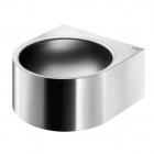 Раковина подвесная антивандальная, с отверстием под смеситель справа Delabie Facil 12080 матовая нерж. сталь