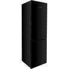 Двухкамерный холодильник с нижней морозильной камерой Gunter&Hauer FN 338 GLB черный