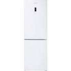 Отдельностоящий двухкамерный холодильник с нижней морозильной камерой Gunter&Hauer белый