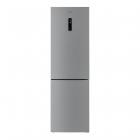 Отдельностоящий двухкамерный холодильник с нижней морозильной камерой Gunter&Hauer FN 315 IDX нерж.сталь