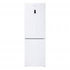 Отдельностоящий двухкамерный холодильник с нижней морозильной камерой Gunter&Hauer FN 315 ID белый