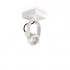 Светильник потолочный спот Ideal Lux Glim 229553 хай-тек, белый, металл