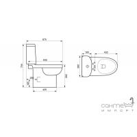Компакт Devit Smart с крышкой плавного опускания