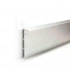 Алюминиевый плинтус скрытого монтажа WT-profil (размер 60 мм)