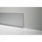 Алюминиевый плинтус пристенный WT-profil 66010 (высота 60 мм)