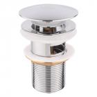 Донный клапан с переливом Lidz LIDZCRM470000300 хром