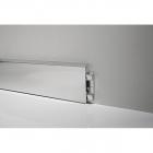 Плинтус алюминиевый Profilpas 78160 ( высота 70 мм), серебро