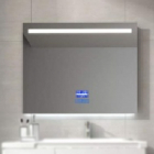 Смарт-зеркало с LED-подсветкой и часами Dusel DE-M3021 65x80