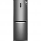 Отдельностоящий холодильник с нижней морозильной камерой LG GA-B379SLUL графит