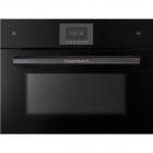 Электрический духовой шкаф с микроволновой печью Küppersbusch CBM6570.0X2 черное стекло