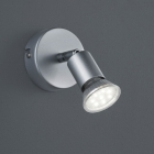 Настенный LED-светильник Reality Paris R86911187 титан
