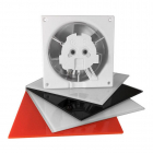 Вытяжной вентилятор airRoxy dRim 125 TS BB 01-068 белый с таймером