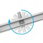 Линейный душевой трап Fala Rotary Wet&Dry решетка нерж. сталь/под плитку
