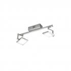 Спот Trio Denver 879610207 LED модуль,метал/пластик, серый