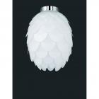 Потолочный светильник Reality Choke R60581001, пластик,белый/хром