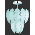 Потолочный светильник Reality Feather R61461006 метал/пластик, белый/хром