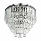Люстра Egro Agrigento 39569 метал/хрусталь,прозрачный/хром