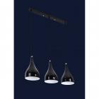 Люстра подвесная Levistella 7044460-3 BLACK
