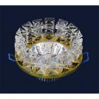 Светильник точечный встраиваемый Levistella 716153 золото, хрустальный
