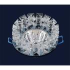 Светильник точечный встраиваемый Levistella 716158 серый, хрустальный