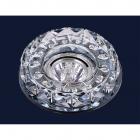 Светильник точечный встраиваемый Levistella 716B018 серебряный