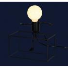 Настольная лампа Levistella 720T26016-L20 BK черный, лофт