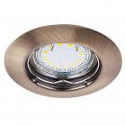 Точечный светильник Rabalux Lite 1048 бронза влагостойкий