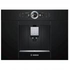 Встраиваемая автоматическая кофемашина Bosch CTL636EB6 черная, нержавеющая сталь