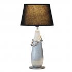 Настольная лампа Rabalux Evelyn 4372 серебро, керамика