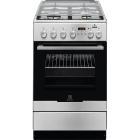 Комбинированная кухонная плита Electrolux EKK 954904 X нержавеющая сталь