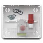 Сифон для кондиционера сухой, с монтажным коробом Vecamco Micro 9899-244-01
